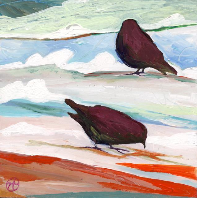 Fine Art- Paintings of Birds artwork