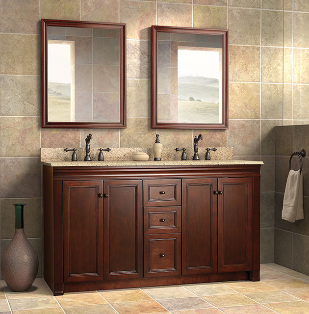 Shawna collection by foremost traditional bathroom for Bathroom vanity cabinets