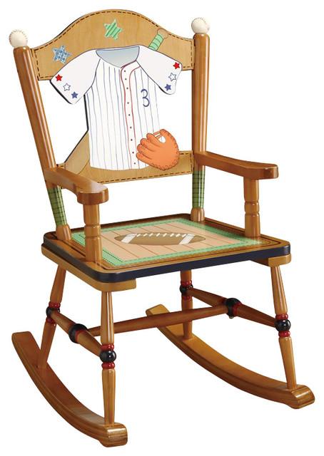Teamson Kids Little Sports Fan Rocking Chair