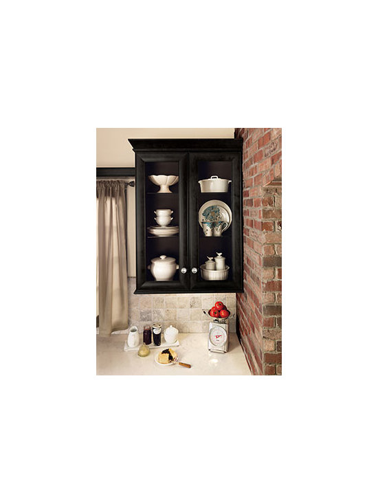 Matching Interior - Glass front doors with a matching interior put the focus on your favorite display pieces.