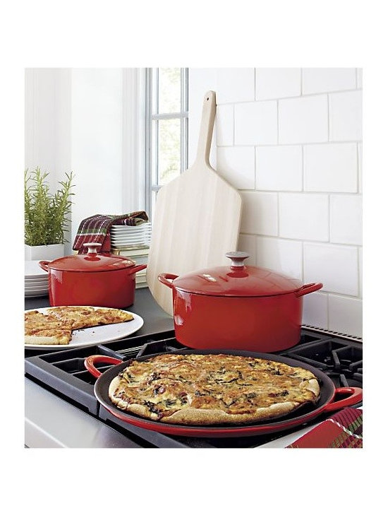 cast iron casserole - Cast Iron Cookware has been used for over a thousand years in Europe and possibly longer in China and Asia.  This cookware remains popular to this day, primarily because of the satisfaction of the cooks who enjoy using a product which heats evenly, fry's to perfection and braizes meats so they are tender and tasty.
