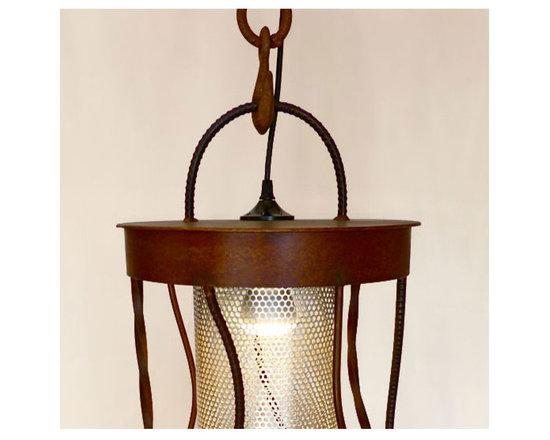 Chrysalis Light Sculpture - Detail -