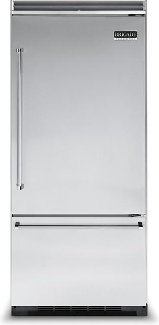 "Brigade Professional 36"" Quiet Cool™ Bottom-Freezer ..."