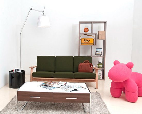 At Home by O  Simpleton 2-Drawer Coffee Table -