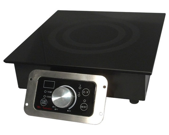 Sunpentown - 3400W Commercial Induction, Built-In - Customize your food service facility and revolutionize your food preparation with the most advanced commercial induction equipment available. Ideal for demonstration cooking, suite service, catering and buffets. Available in two power levels. Features SmartScan enhancement and COOK and TEMP modes. Separate control for remote mounting.