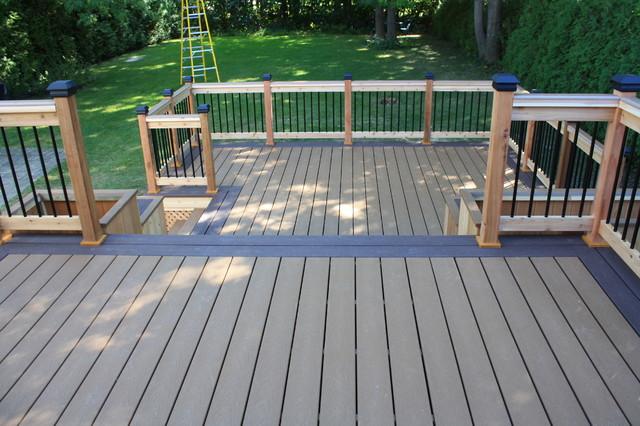 Patio Deck Art Design Traditional Porch