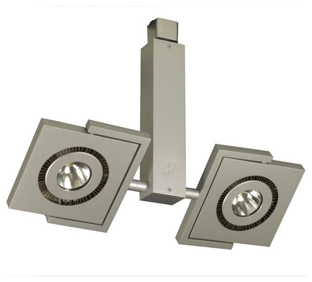 Jesco H L524 30 S H System - Led Track Head Contempo Series contemporary-track-lighting