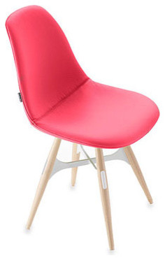 Kubikoff ZigZag Pop Chair Fuschia chairs