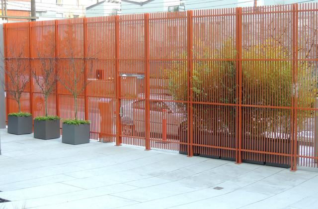 Front Entrance - Modern contemporary-landscape