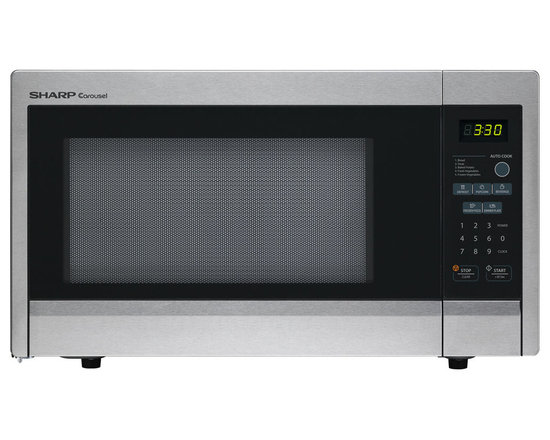 """Sharp - 1.1 Cu.Ft 1000W Touch Microwave, 11.25"""" Turntable - Features:"""