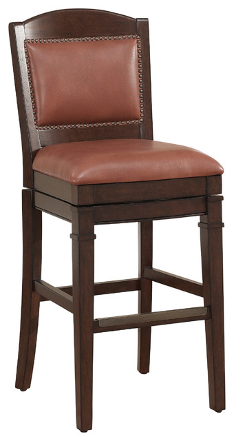 Bar height stool in crimson modern bar stools and counter stools