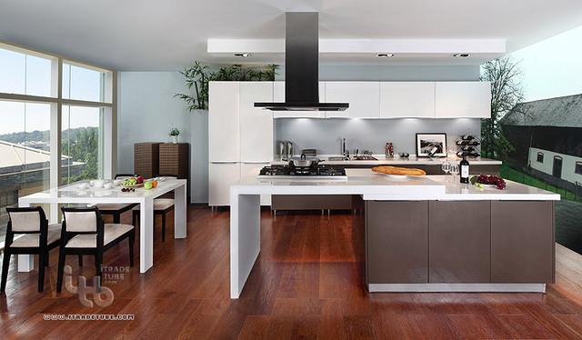 kitchen,custom kitchen cabinets,kitchen islands - Modern - other metro ...