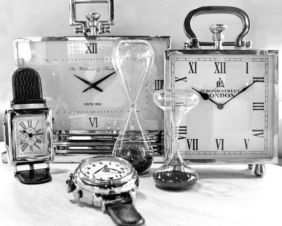 Accessories - Tabletop clocks in several styles. For more info give us a call at (305)576-4566!