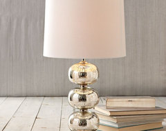 Abacus Table Lamp, Mercury contemporary table lamps