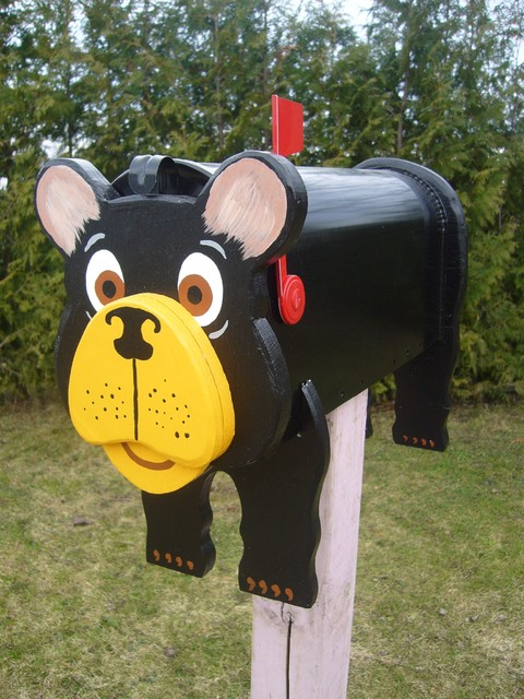 Decorative Bear mailboxes - Modern - Mailboxes