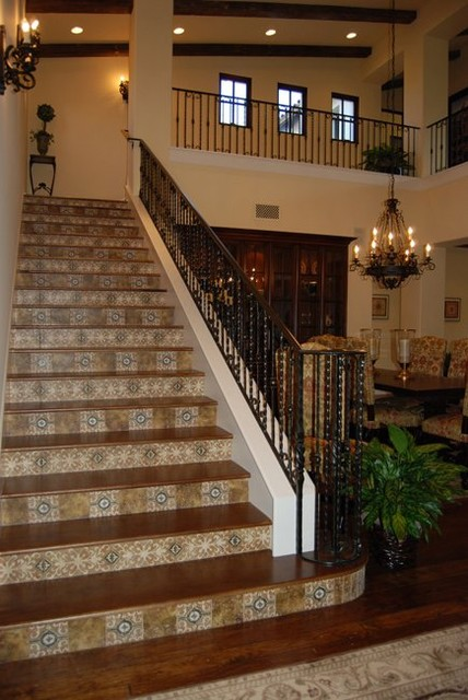 Stairs Tuscan Style Projects