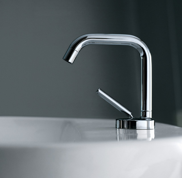 Zucchetti isystick modern bathroom faucets and for Modern bathroom fixtures