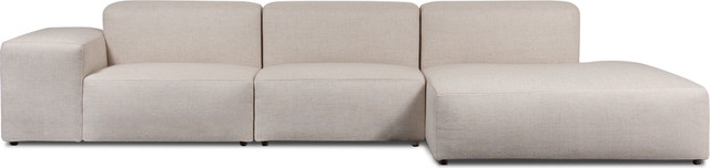 Edison Sectional Couch Beige left modern-sectional-sofas