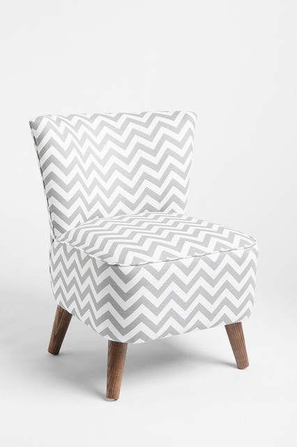 Ziggy Chair, Gray transitional-armchairs-and-accent-chairs