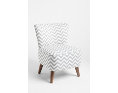Ziggy Chair, Gray transitional-living-room-chairs