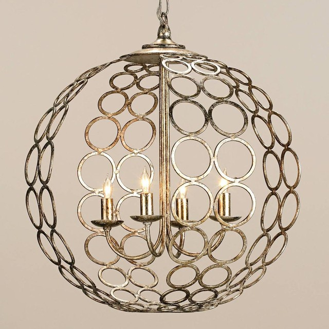 Currey And Company Balthazar: Circlet Sphere Chandelier
