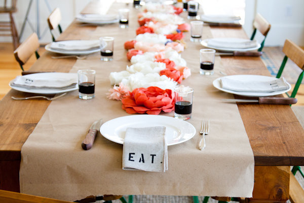 EAT Table Linens eclectic tablecloths