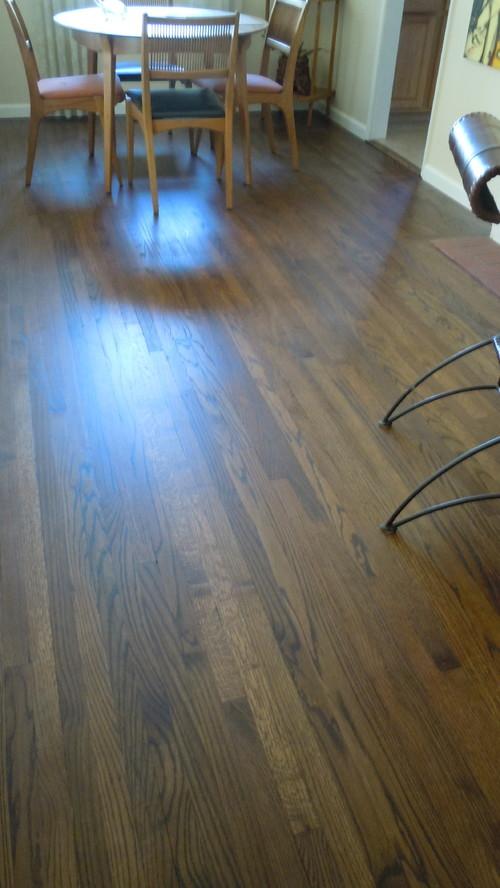 Hope for urine-stained oak hardwood floors