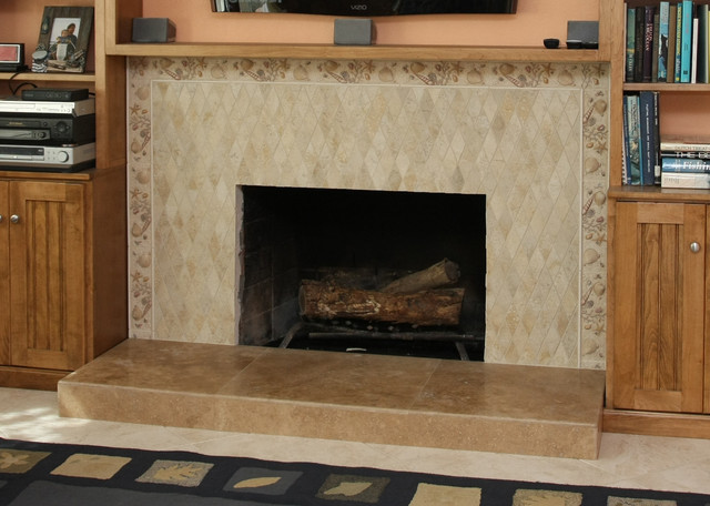 Fireplace Walls transitional-family-room