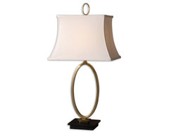 Orpaz Bronze Table Lamp traditional-table-lamps