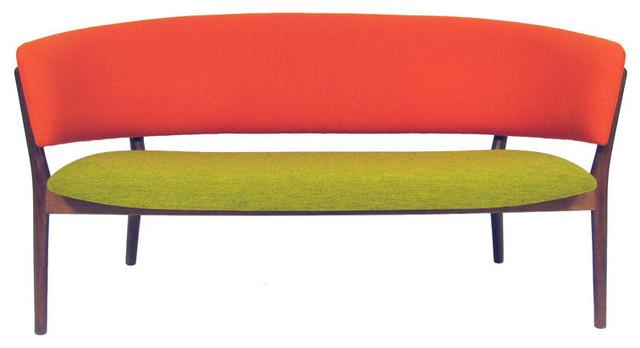 Nanna Ditzel Model 83L Settee modern-love-seats
