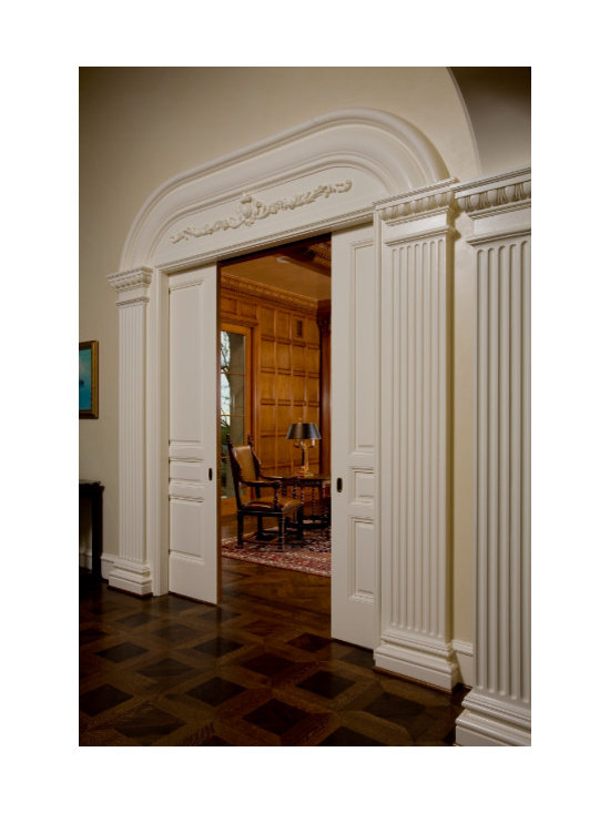 Grand Library Entrance -