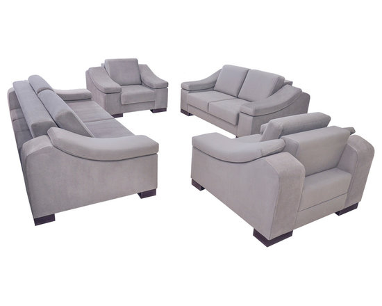 Fabric Sofa Living Room Set - NEVA -