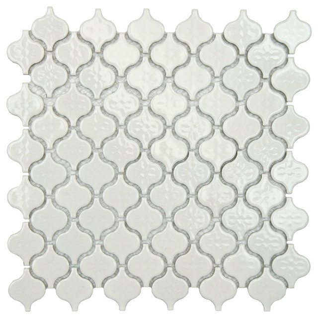 mediterranean kitchen tile by Overstock