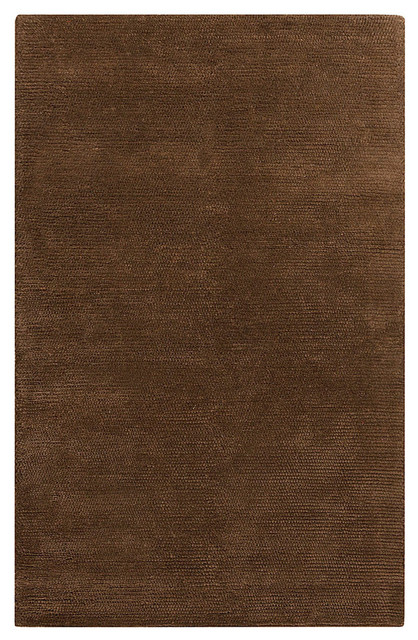 "Cambria Rug - Mocha and Chocolate - 2'6"" x 8' transitional-rugs"