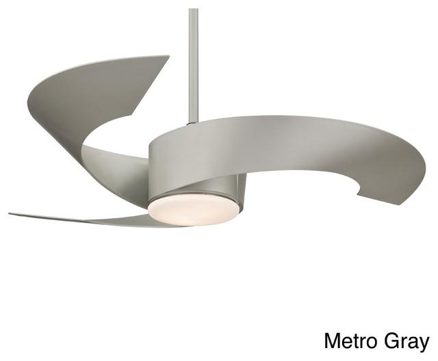 Fanimation Torto 52-inch 2-light Ceiling Fan contemporary-ceiling-fans