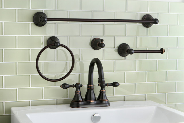 Classic High Spout Oil Rubbed Bronze Bathroom Faucet And Bathroom Accessory S