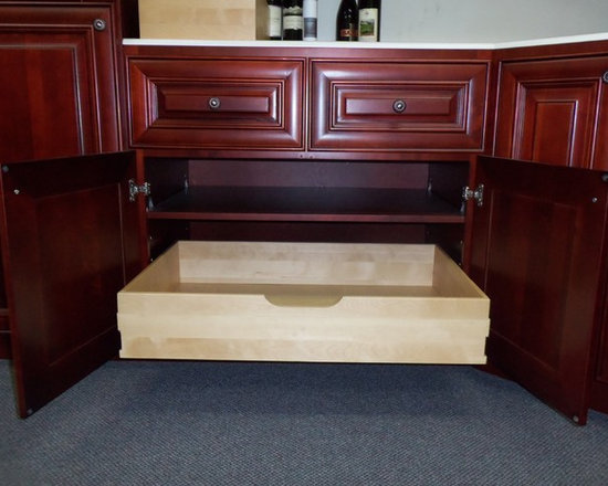 O'Neil Cherry Cabinet with Pull-out Tray (Showroom) - O'Neil Cherry Kitchen.