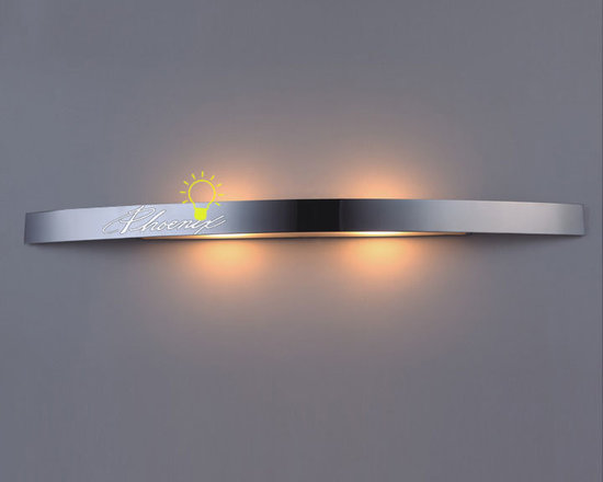Bath Wall Sconce 2 - Siza:W35.45'' X H2.0''