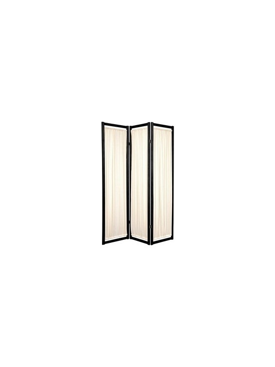 Room Dividers & Folding Screens - Helsinki 6ft tall room divider available in 3+ panels and finishes
