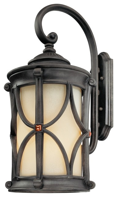 "Traditional Woodridge Collection 26 1/4"" High Outdoor Wall Light traditional-outdoor-lighting"