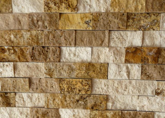 Splitface collection mixed travertine tile for Bathroom tile philadelphia
