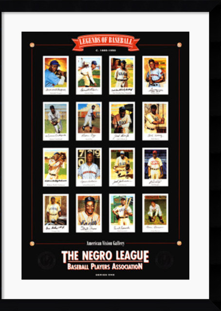 Negro League Baseball Legends Framed Print by E.B. Lewis traditional-prints-and-posters