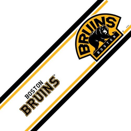 Nhl boston bruins self stick hockey wall border roll - Boston bruins wallpaper border ...