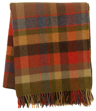Avoca Plaid Throw traditional throws