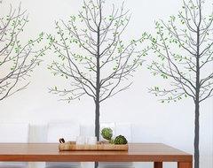 Seasons Decal By Mina Javid contemporary-kids-wall-decor
