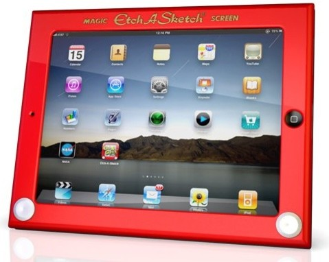 Etch-A-Sketch iPad Cover home-electronics
