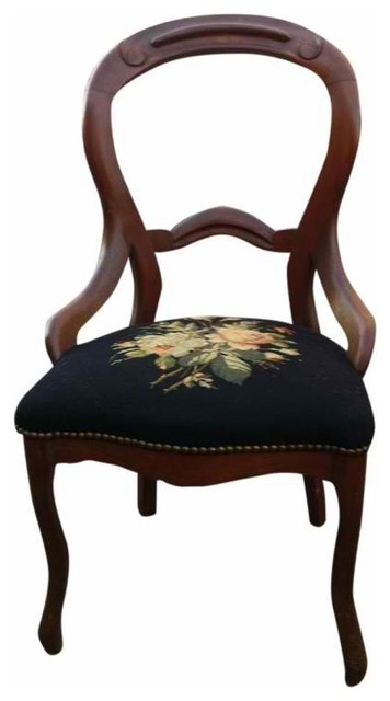 Needlepoint Chair eclectic-chairs