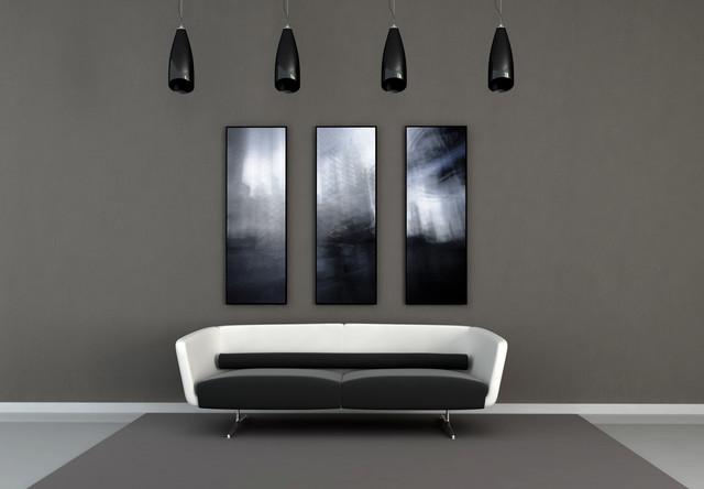Abstract prints on aluminum modern artwork toronto for Modern home decor toronto