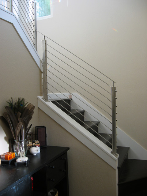Railings contemporary staircase