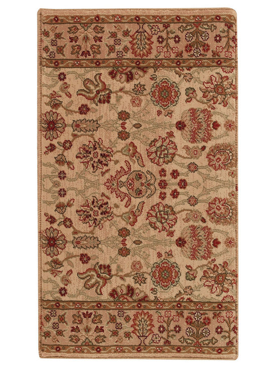"""Satin Topaz runner roll rug in Opal - The crisp, traditional designs, fashion forward colorations and extra tight packed pile (1/2"""" thick) will wear like iron and give years and years of superior service."""